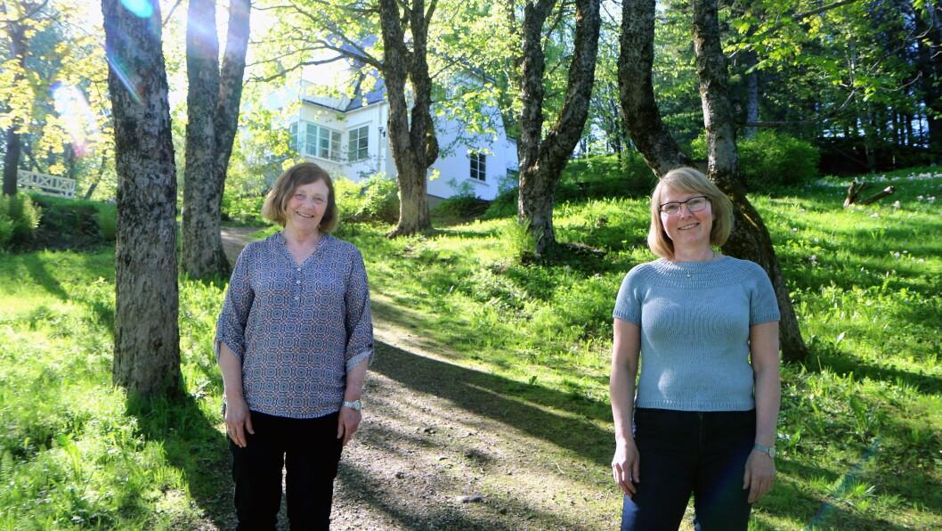 Bjerkhaug barnehagene åpnet dørene i 1992. Nå er det slutt for den særegne barnehagen i Bodø. Reidun Koch og styrer Monica Røberg Andreassen synes det er vemodig.