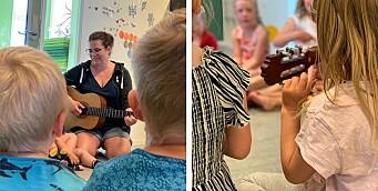 Bruker sang i tilvenningen: – Sang skaper fellesskapsfølelse
