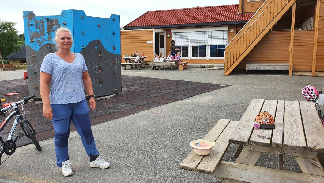 Daglig leder i Norlandia Kløvermarka barnehage, Anne Iren Waag, gleder seg til å få en rekke nye kolleger - og nye barn - til barnehagen i høst.
