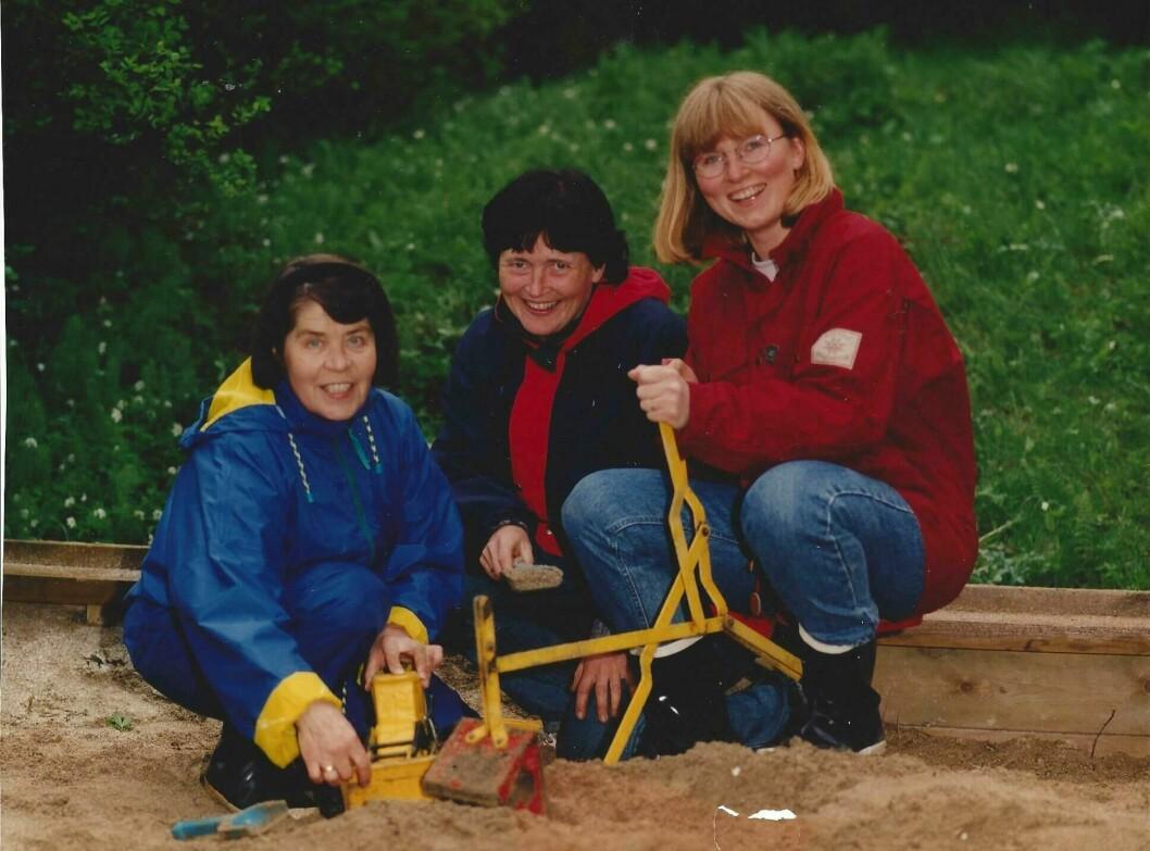 Kati Wiland, Reidun Koch og Monica Røberg Andreassen.