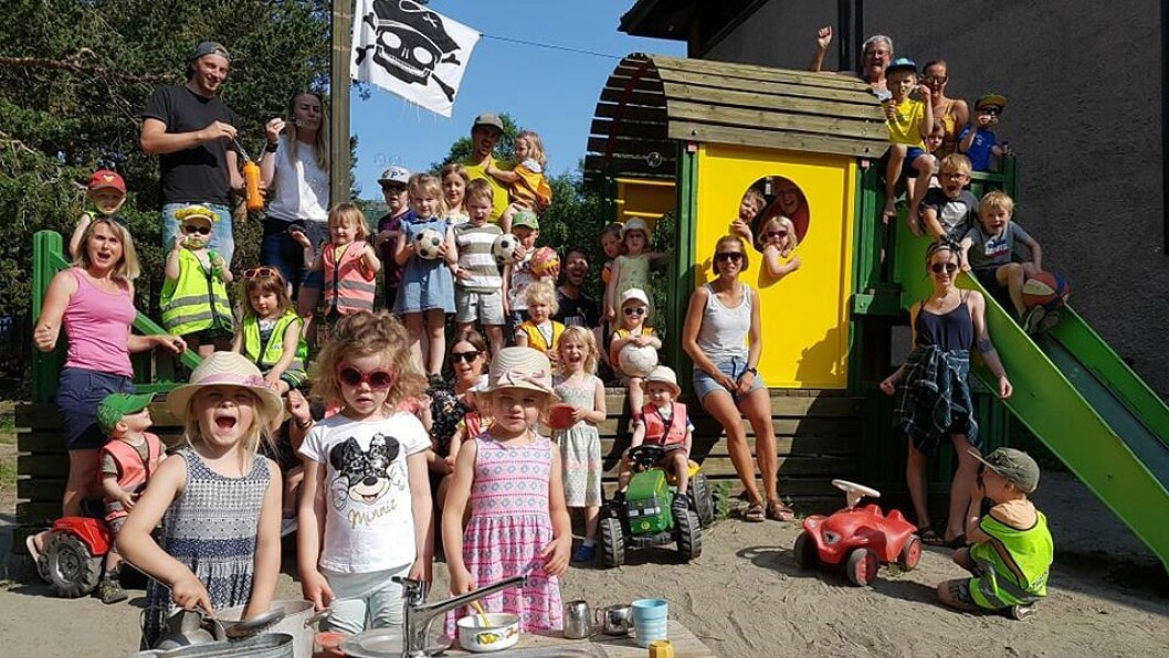 Verdien av å være en god venn for andre, er noe av det viktigste barna i Tågvollan barnehage i Oppdal får med seg videre. Nå er de nominert til Årets barnehage 2020, i regi av PBL.