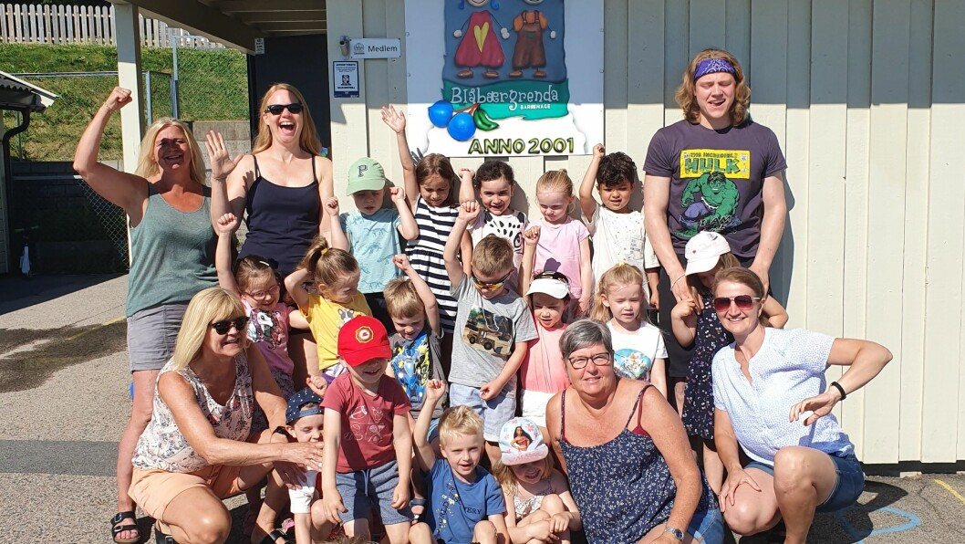 – Det er ekstra morsomt når andre mener arbeidet vi gjør er bra, sier daglig leder Linda Yvonne Rosenborg i Blåbærgrenda barnehage; en av fem finalister til Årets barnehage 2020.