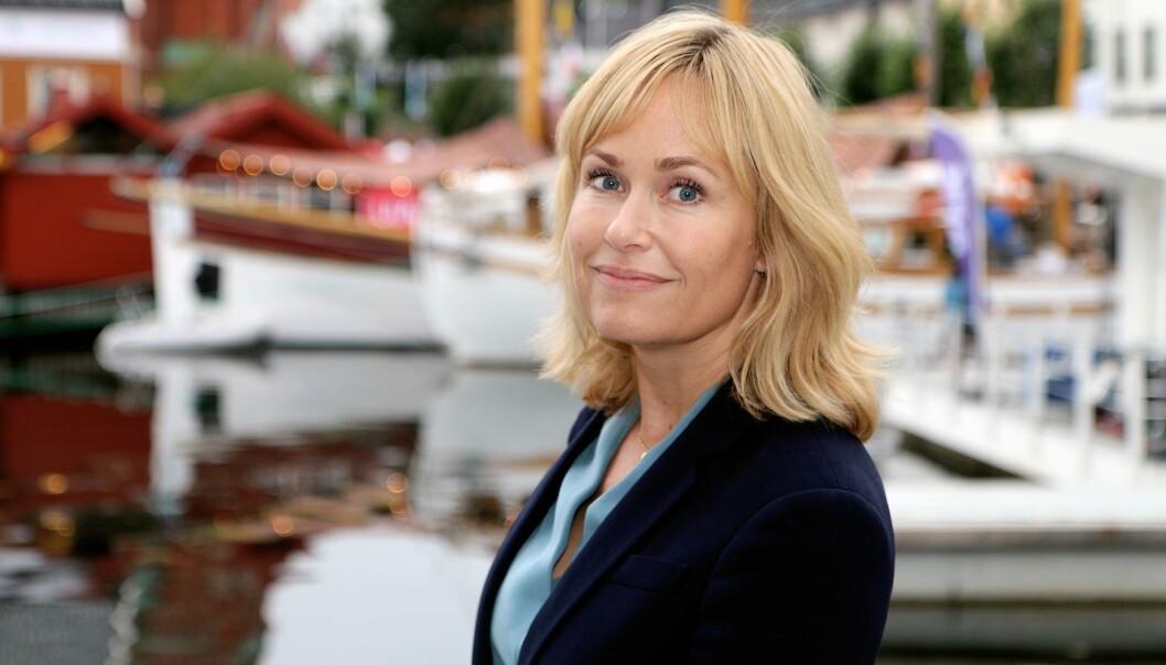 Anne Lindboe, administrerende direktør i PBL reagerer på at barnehagene kan få mindre i kapitaltilskudd