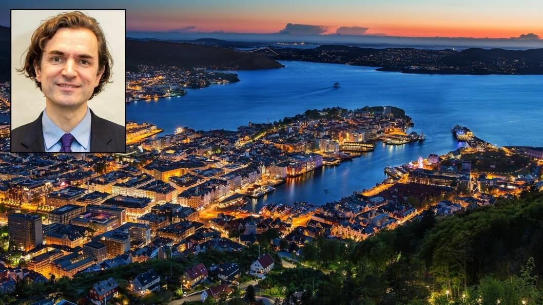 Endre Tvinnereim er byråd for barnehage, skole og idrett i Bergen. Han åpner nå for å videreføre kortere åpningstid i kommunale barnehager.
