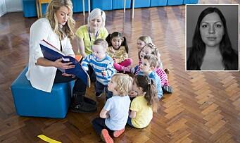 Pandemien som ga oss et glimt av en bedre barnehage