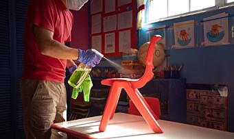 Undersøkelse fra Fagforbundet: Fire av fem barnehageansatte måtte vaske