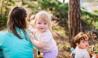 Tilvenning i koronatid: Slik har denne barnehagen løst det