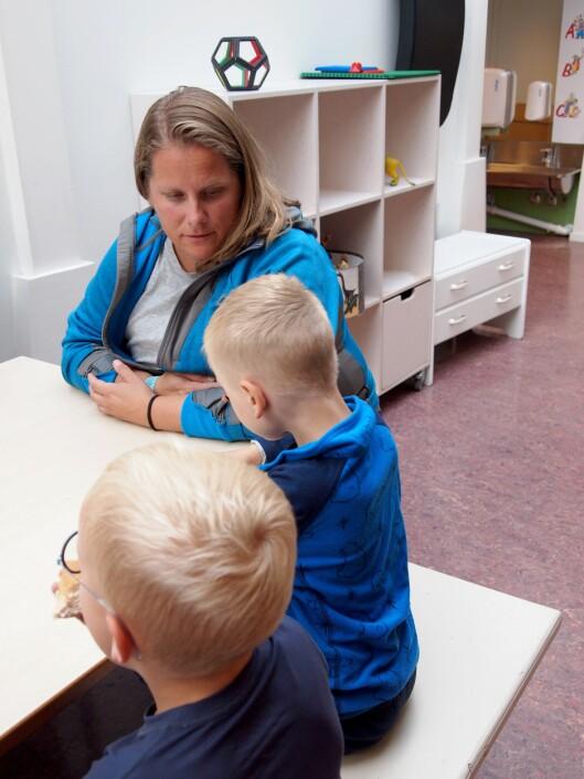 - Og så håper jeg å komme ut på den andre siden av denne perioden som en litt bedre voksen, sier Bjørg Eva Plannthin.