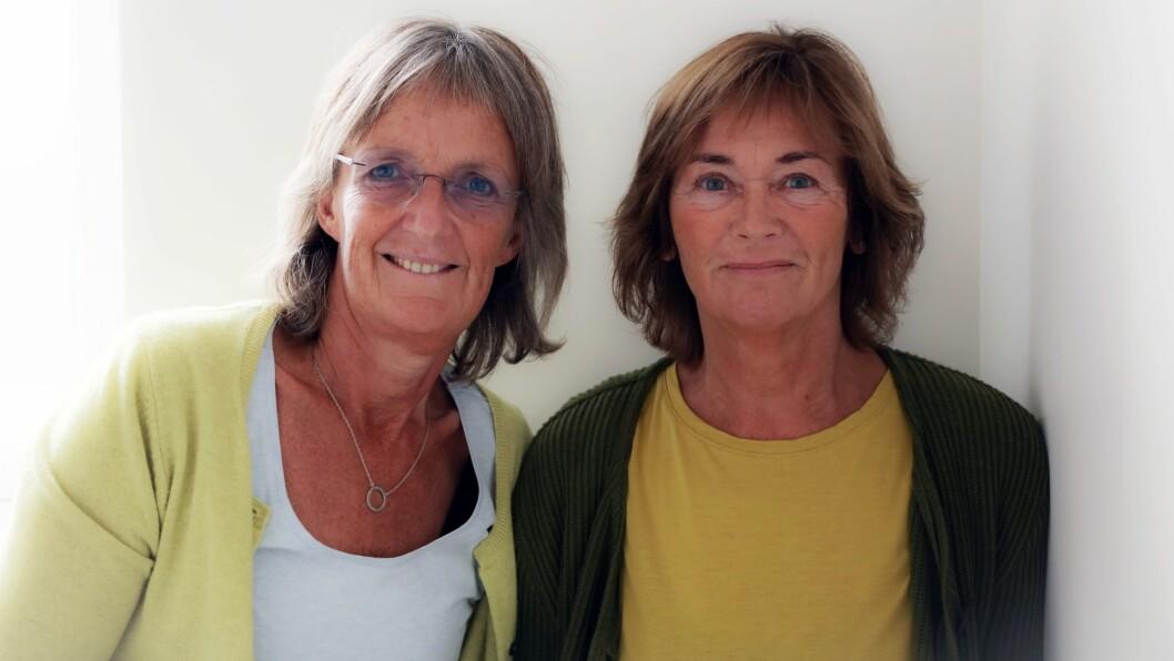 Ingrid Lund (til venstre) og Anne Helgeland har skrevet boka «Mobbing i barnehage og skole - Nye perspektiver».
