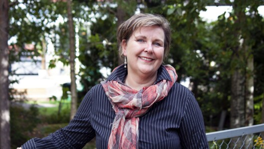 Linda Yvonne Rosenborg er daglig leder i Blåbærgrenda barnehage i Rælingen.