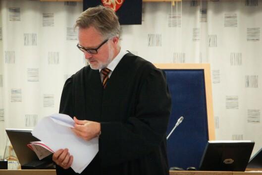 Advokat Alex Borch fra advokatfirmaet Hjort representerte kommunen.