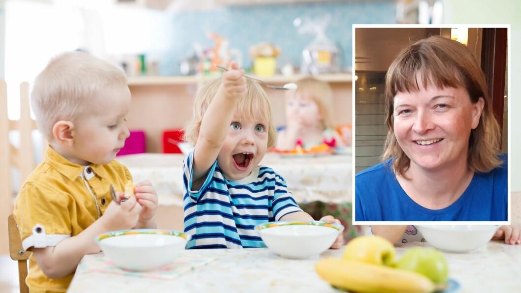 «La meg først slå fast det opplagte: Sunn mat er viktig for barn, og å være med på å lage og å smøre egen mat gir barn nyttig læring og selvstendighetstrening.»
