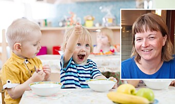 Måltider i barnehagen: Til glede og besvær