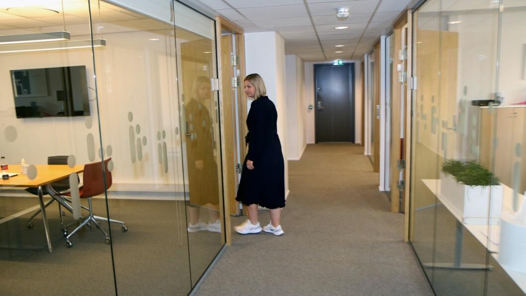 Guri Melby er tilbake i Kunnskapsdepartementet. Denne gangen som sjef, med raske sko.