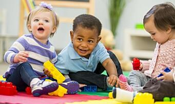 Hva er lek for en ettåring? Og hvordan leker vi med ettåringen?