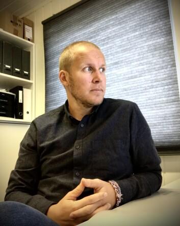 Raymond Lundquist, barnehagelærer og daglig leder i Stavsberg barnehage.