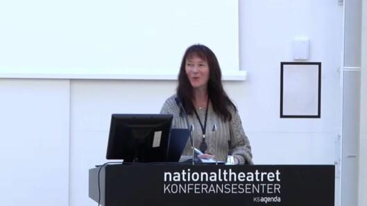 May-Britt Sundal er leder i Yrkesseksjon kirke, kultur og oppvekst i Fagforbundet