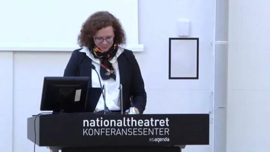 Marit Leinhardt er Avdelingsdirektør for arbeidsgiverpolitikk i KS.