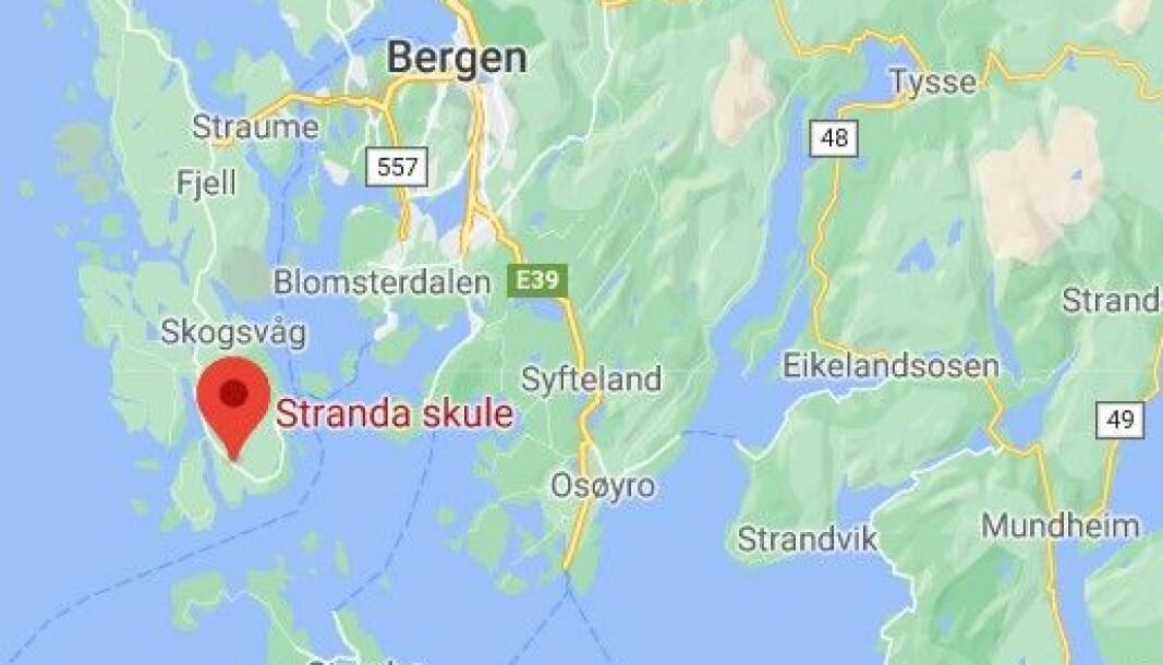 Stranda barnehage i Øygarden kommune er stengt på ubestemt tid. Den kommunale barnehagen har 91 barn og 27 ansatte.