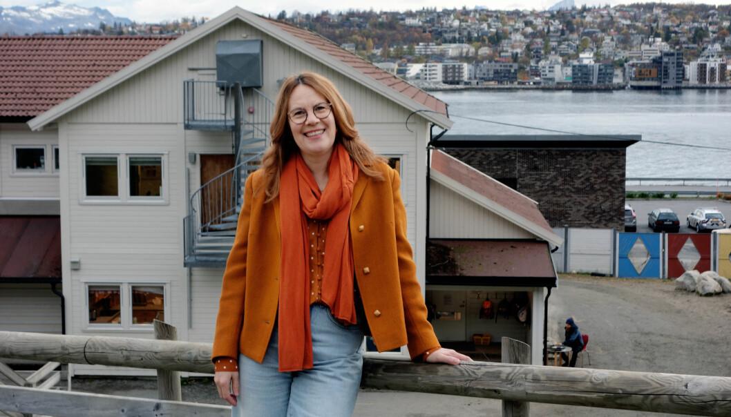 Annalena Nordin Pedersen er enhetsleder i Tromsøysundet barnehager.