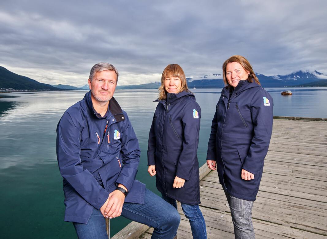 Det er tre mobbeombud i Troms og Finnmark: Fra venstre Jon Halvdan Lenning, Anita Lervoll og Janne Sannes.