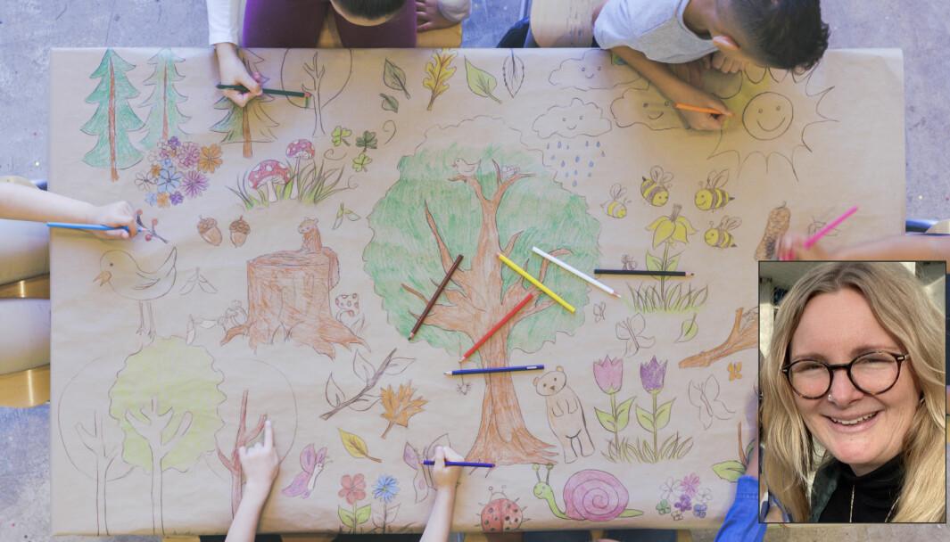 En stor synder i mange barnehager er formingsmateriell og aktiviteter, skriver Kristine J. Kaba i dette innlegget.
