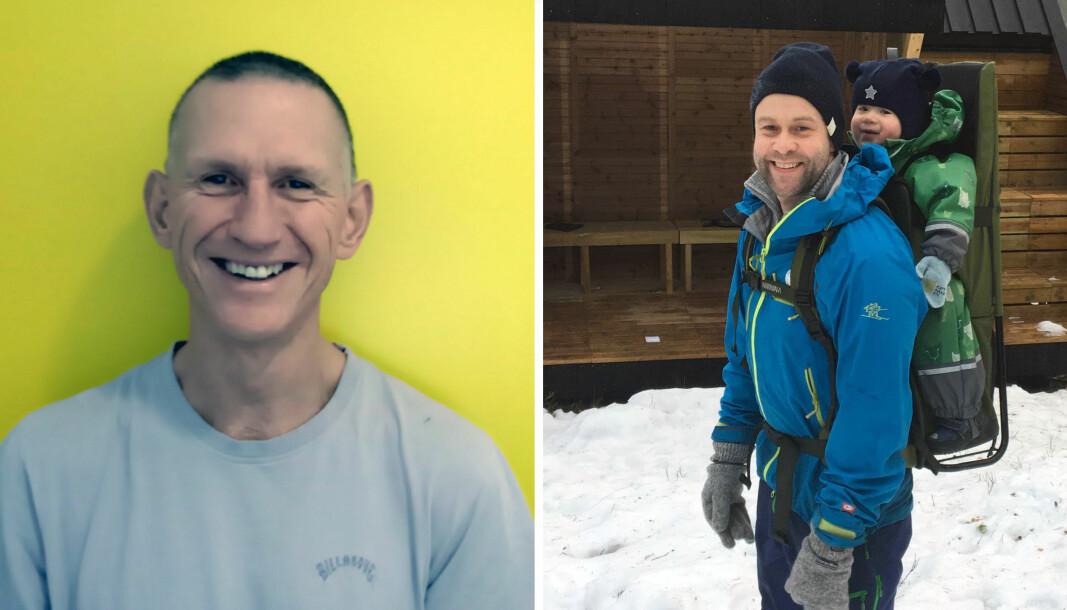 Gerran Tangye (til venstre) og Olav Nikolai Helgøy har skrevet om hvilken forståelse barnehagelærerne har av barns medvirkning.