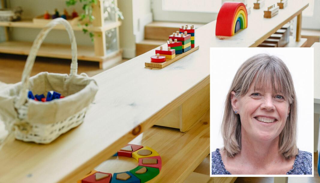 Katrine Giæver har forsket på barns muligheter til å delta aktivt i dialoger og samhandling i barnehagen.