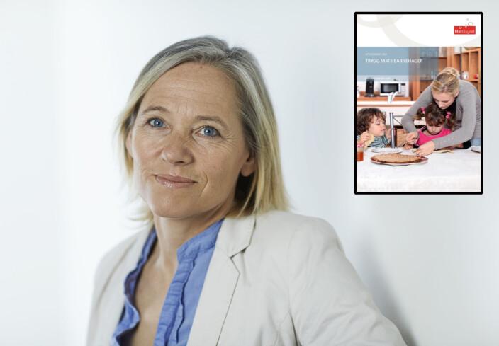 - Barns immunforsvar er ikke fullt utviklet, og de blir derfor lettere syke enn voksne, sier seniorrådgiver Randi Edvardsen i Mattilsynet.