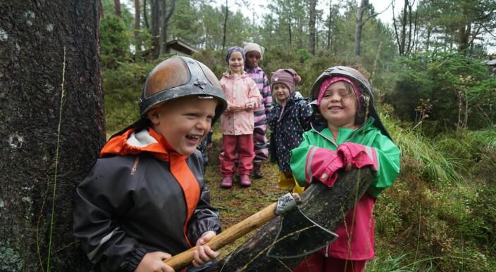 Vil nå ut til hele landet med vikingpodcast fra skolestarterne
