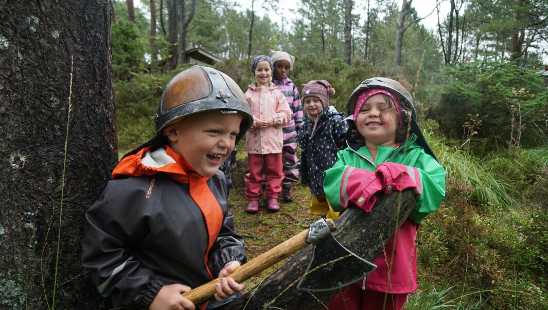 Barna i Espira Salamonskogen skal blant annet lage podcast for å markere at Norge ble kristnet.