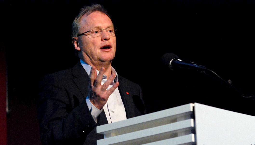 Byrådet i Oslo gjør lettelser i koronatiltakene. Her er byrådsleder i Oslo, Raymond Johansen (Ap) ved en tidligere anledning.
