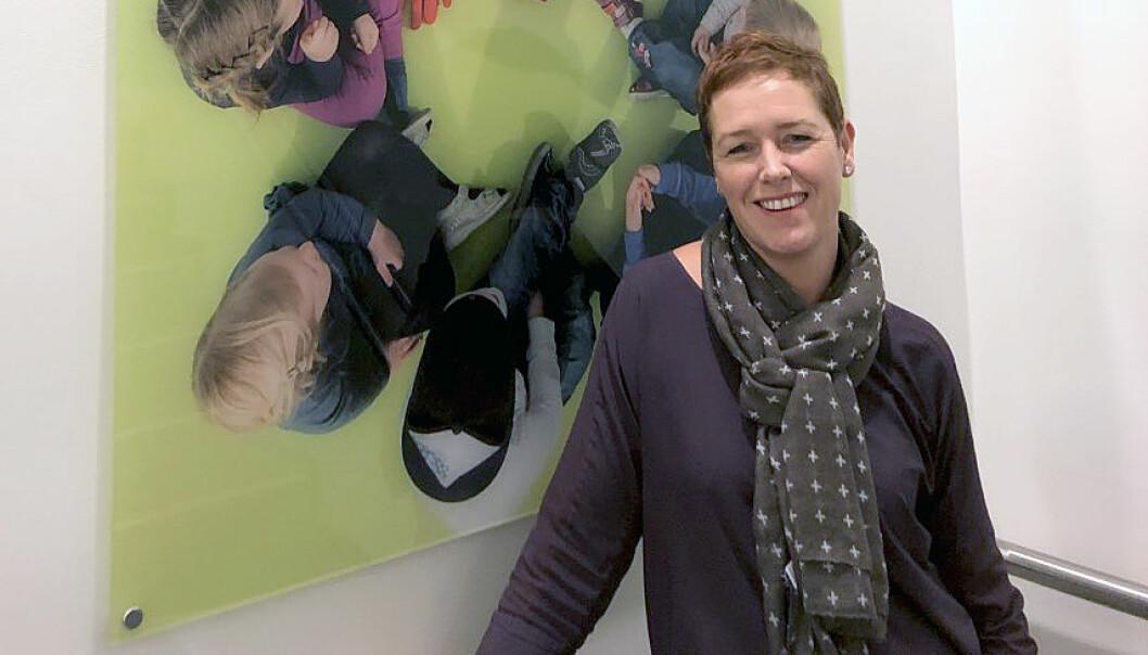 Maria Korsvik er styrer i Læringsverkstedet Solkollen barnehage Hånes.
