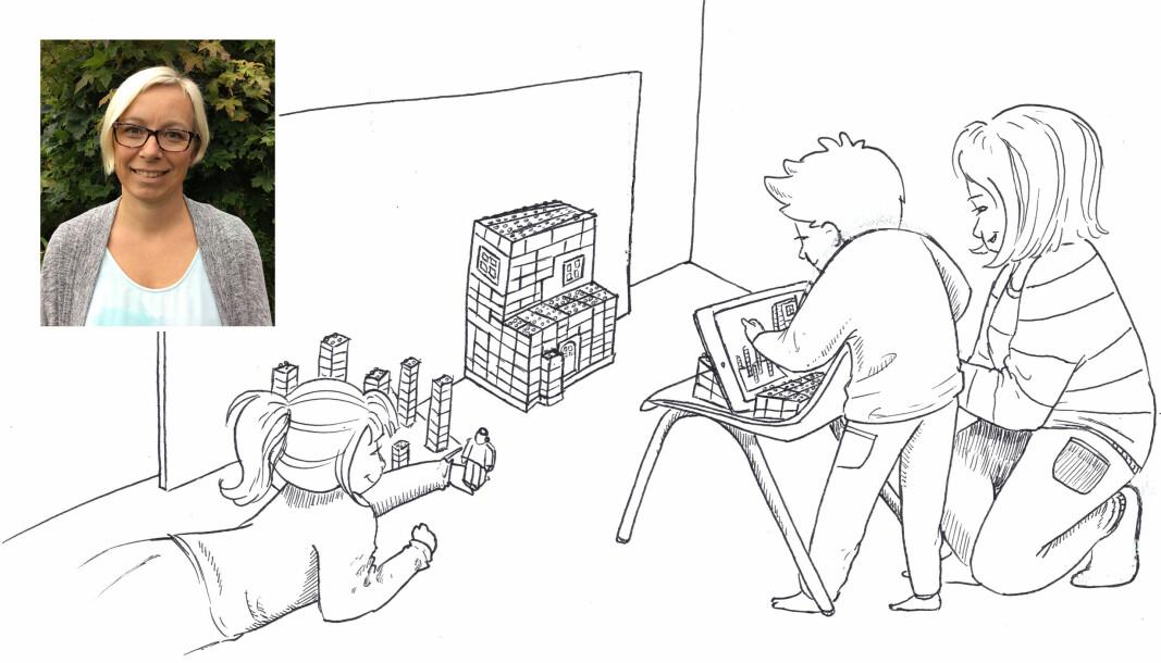 """<span class="""" italic"""" data-lab-italic_desktop=""""italic"""">Gjennom intervjuene Undheim gjorde med barna kom det frem at noe av det viktigste for dem var å kunne dele den ferdige fortellingen med andre.</span>"""