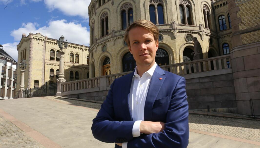 Torstein Tvedt Solberg mener barnehagene ville fått en bedre hverdag med Arbeiderpartiets politikk.