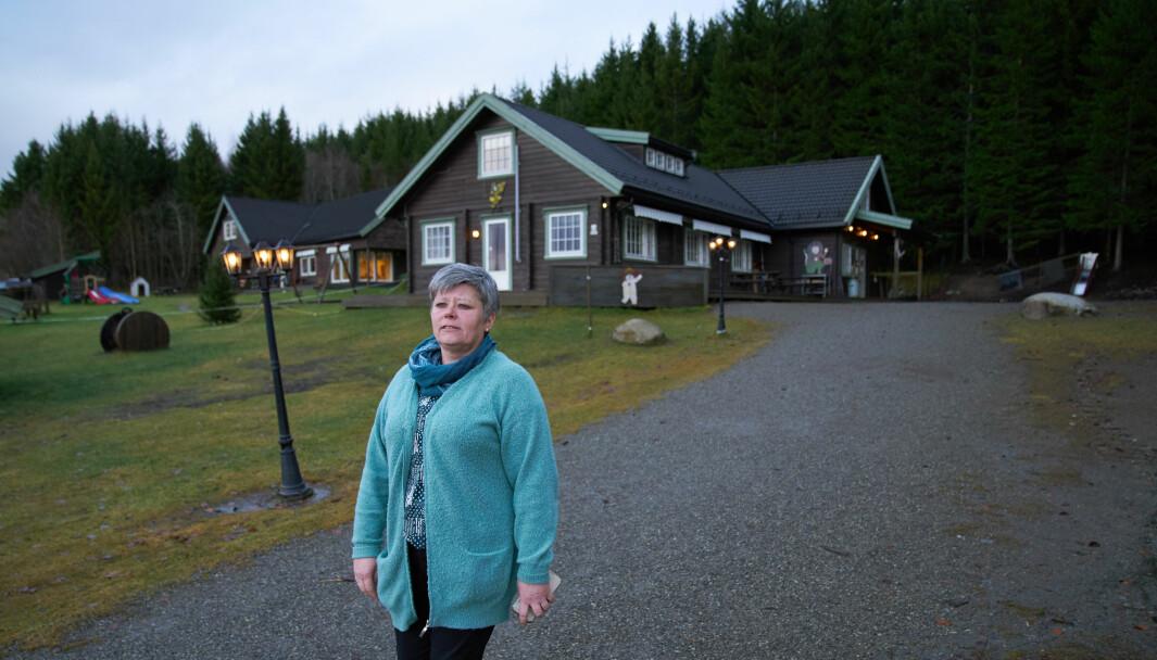 Gunn Sofie Ystgaard (bildet) startet Haugtussa barnehage sammen med Linda-Anita Wigen Solberg i 2005. De har allerede bestemt seg for å legge ned driften.
