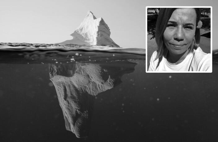 «Jeg føler meg som Titanic. Jeg ser isfjellet og prøver å styre unna»