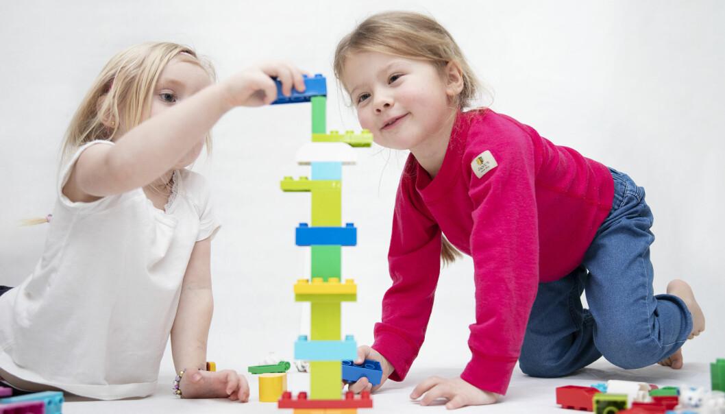 KREATIV BYGGING. En viktig del av Discover er at barna skal bygge, teste og dele ideer. Alt med hensikt å nå nye læringsmål og lære nye begreper.