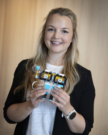 Silje Kumeus er konseptleder for FIRST LEGO League i Skandinavia.
