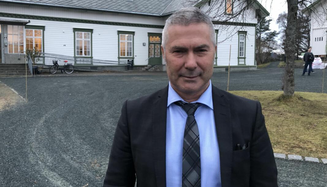 Dekan Egil Solli ved Fakultet for lærerutdanning og kunst- og kulturfag ved Nord universitet.
