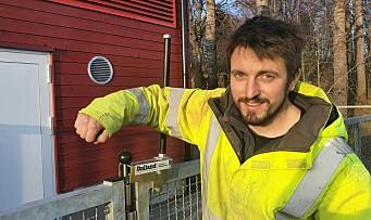 Ville ikke ta på kula i porten: Fant «Petter Smart»-løsning