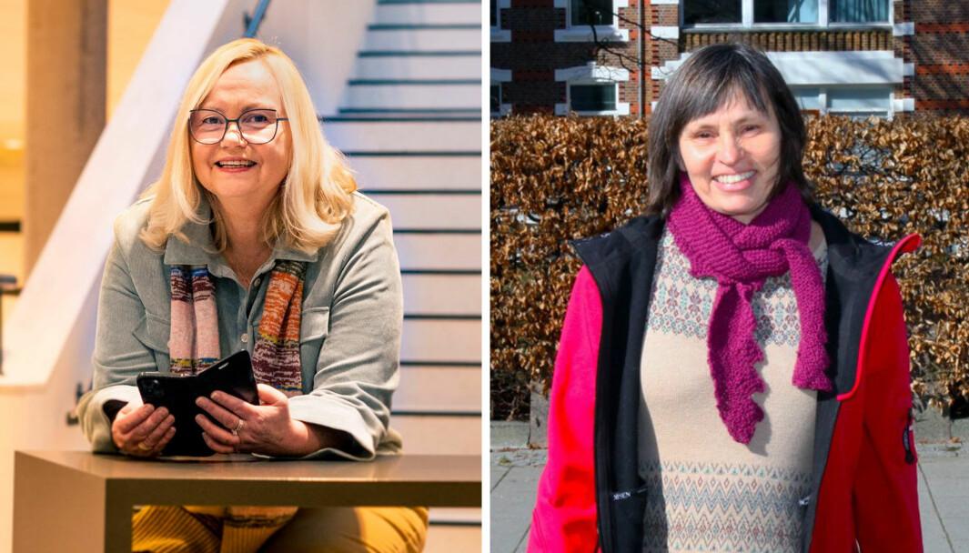 Elin Eriksen Ødegaard ved BARNKunne ved Høgskulen på Vestlandet (til venstre) og Elin Reikerås ved FILIORUM - Senter for barnehageforskning ved Universitetet i Stavanger skal dele det redaksjonelle og administrative ansvaret for tidsskriftet Nordisk barnehageforskning.