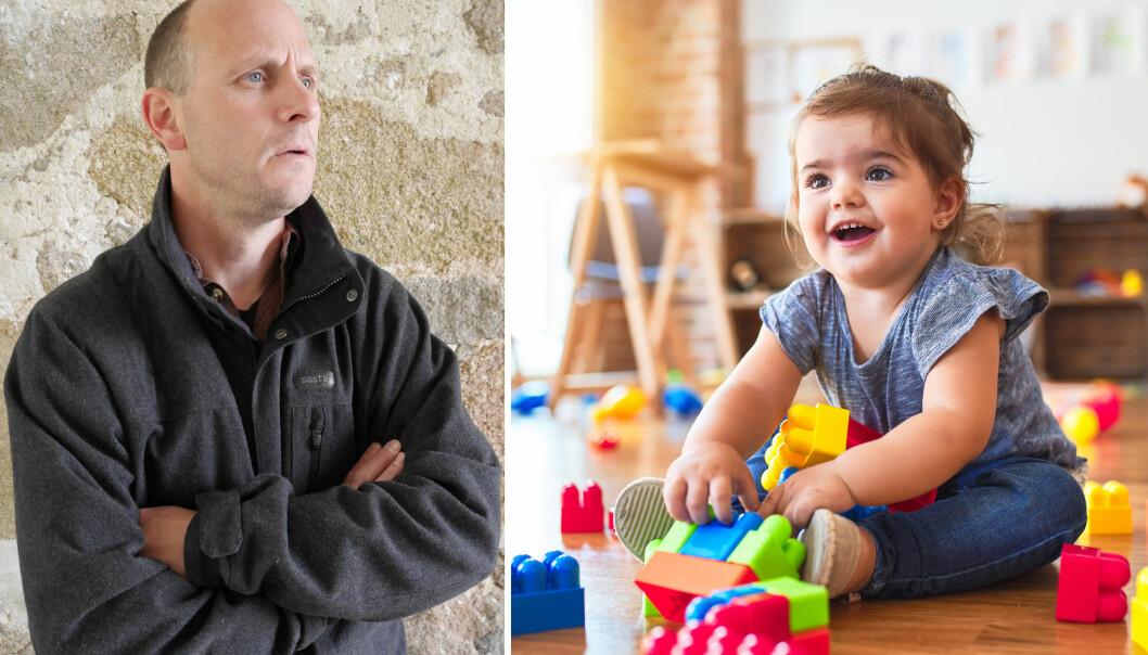 – Det er krevende å være relasjonsarbeider med de yngste barna. Men det er like fullt det som er jobben i barnehage, skriver Anders Ek i dette innlegget.