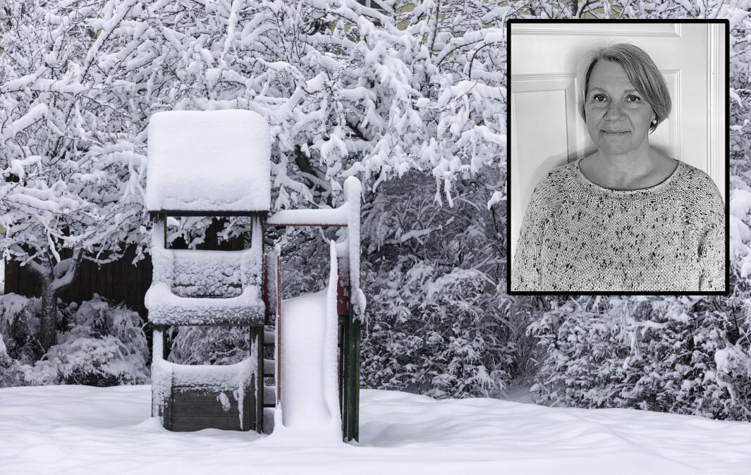 Lise Holm er daglig leder i Stenseth barnehage, og kommer her med en oppfordring til politikerne i Drammen.
