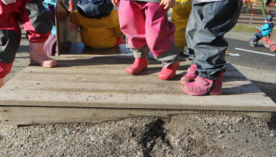 I fjor høst innførte barnehagen åtte timers arbeidsdag for sine ansatte. Det betyr i praksis ulønnet pause og går en halv time lengre.