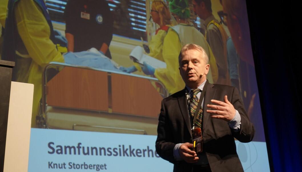 Statsforvalter Knut Storberget leder arbeidet i det hurtigarbeidende utvalget.