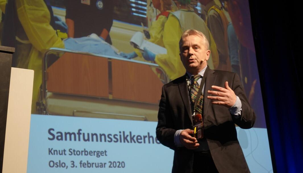 Statsforvalter Knut Storberget skal lede barnehageutvalget.