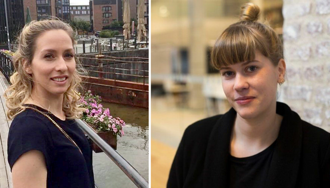 Katrine Thuen (til venstre) og Juni Wiger står bak denne kronikken om høringsforslaget forslag til endringer i barnehageloven om plikt til å vurdere barns norskkunnskaper før skolestart med mer.