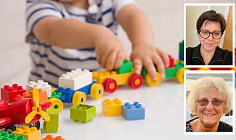 Morsmålet er viktig for alle barn i barnehagen