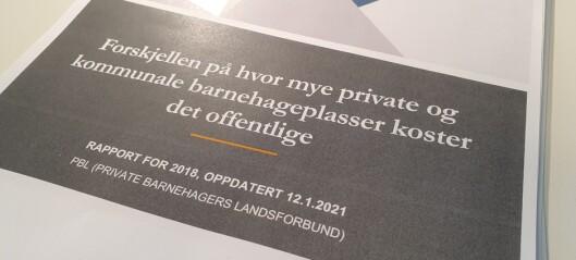 Rapport: Derfor sparer kommunene på å ha private barnehager